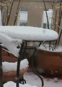 雪の造作物