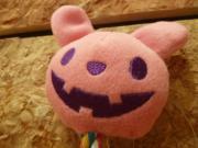 デンタルロープ ハロウィンアニマル ポンポリース ウサギ ピンク